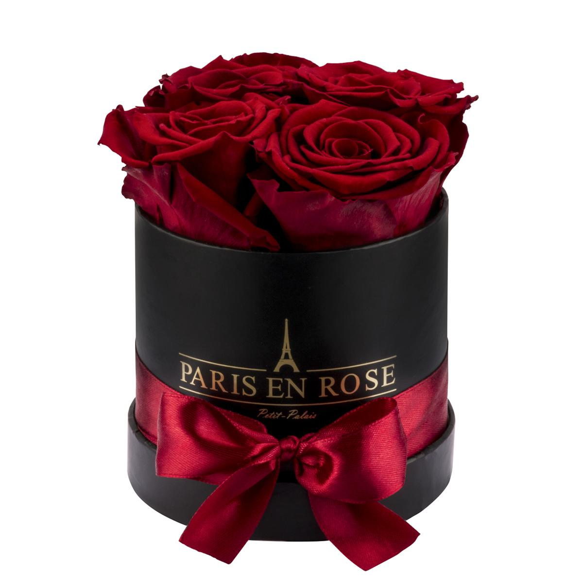 Rose box Petit-Palais with preserved roses